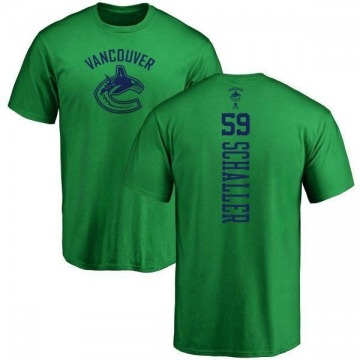 Youth Tim Schaller Vancouver Canucks One Color Backer T-Shirt - Kelly Green